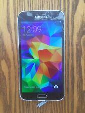 Samsung Galaxy S5 SM-G900F - electric blue - Cracked Screen
