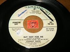 JOHNNY NASH - BUT NOT FOR ME - TAKE A GIANT STEP  / LISTEN - VOCAL JAZZ POPCORN