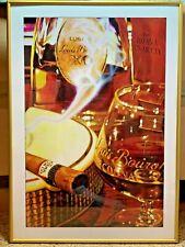 LOUIS DELIGHT L/E LITHOGRAPH BY LONA COA 326/800 Cigar XO Cognac Wall Art Decor