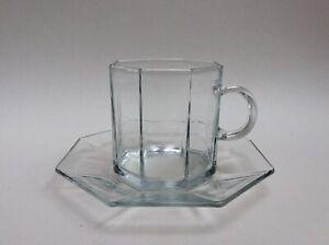 Luminarc arcoroc OCTIME klar transparent Kaffeetasse Tasse Untertasse