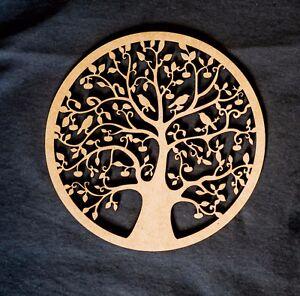 Wooden Tree of Life Wall Plaque Hanging Art. 30 cm Australian made. Decor