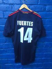 España Adidas lejos XL 2010 Personalizadas número 14 Camiseta de fútbol Jersy Top
