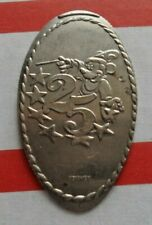 25 Years elongated quarter not penny Disney USA 25 cent Mickey Mouse coin