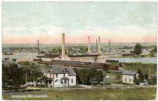 Postcard Overview of Paper Mills in Kalamazoo, Michigan~106711