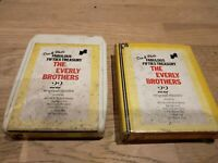Everly Brothers Don & Phil's Fabulous Fifties Treasury 8 Track Cartridge Vintage