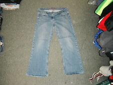 "Evie Bootcut Size 18 Leg 27"" Faded Medium Blue Ladies Jeans"