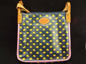 """FOSSIL Hedgehog Purse  -- about 10"""" x 11""""  -- Good Condition"""