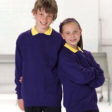 Boys' School Sweatshirt/Fleece Polyester Uniforms (2-16 Years)