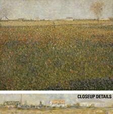 """40W""""x32H"""" LA LUZERNE SAINT-DENIS by GEORGES SEURAT POINTILLISM CHOICES of CANVAS"""