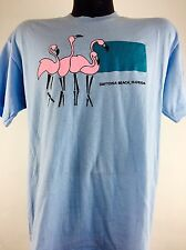 Vintage Daytona Beach Shirt Florida Flamingos Boho Punk Rock Metal 70s 80s 90s