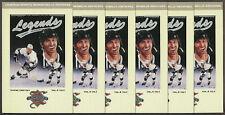 10 1992 Wayne Gretzky LA Kings Legends Sports Memorabilia Magazine Postcards