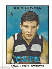 1968 B Scanlens ## 17 John NEWMAN Geelong Near Mint