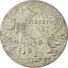 [#552005] France, Medal, Jeux Olympiques d'Albertville, 1992, MS(64)