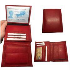 Rote Geldbörse / Portmonee mit vielen Kartenfächer