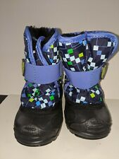 Kamik Toddler Waterproof Snow Boots. Size 6