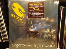 GZA / GENIUS - LEGEND OF THE LIQUID SWORD (VINYL 2LP)  2002!!  RARE!!  WU-TANG!!