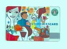 STARBUCKS GIFT CARD  2004 CELEBRATION CAR-180   UNUSED