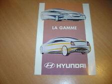 CATALOGUE Gamme Hyundai 1996