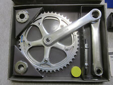 "Shimano FC-7200, Dura-Ace EX crank set 1980 1"" pedal threads! Italian bb"
