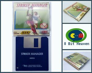 STRIKER MANAGER BY D&H GAMES FOR COMMODORE AMIGA - TESTED & WORKING