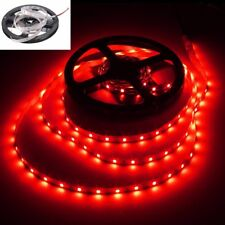 Red 5M 600 Leds SMD 3528 Led Strip Lights Flexible DIY Lamps Non-Waterproof 12V