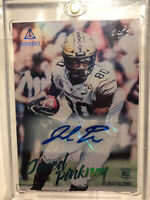 True 1/1 2020 Panini Luminance Jared Pinkney RC Auto Atlanta Falcons Vanderbilt