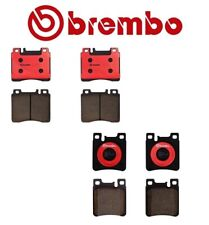 For Mercedes C140 400SE 400SEL S350 Front and Rear Ceramic Brake Pads Brembo Kit