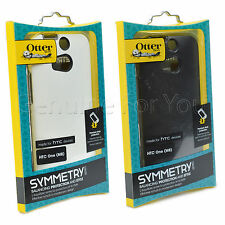 Genuine OtterBox Symmetry Series Hard Sleek Case Cover for HTC One M8 New
