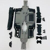 Traxxas E-Revo VXL 1/16 Chasis 7022 Skidplate Set Front & Rear 7037 Slash Summit