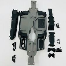 Traxxas E-Revo VXL 1/16 Chasis 7022 Skidplate Set Front & Rear 7037 Slash Summit
