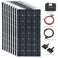 800w Flexible Solar Panel Solarmodul Kits+60A Controller for Home Wohnmobil Boat