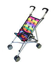 NEW BABY DOLL LATTICE STROLLER PRAM pretend parent play girls boys toy gift