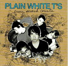 CD - PLAIN WHITE T'S - Every Second Counts