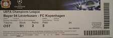 TICKET UEFA CL 2014/15 Bayer Leverkusen - FC Kopenhagen