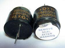 2 Stück Digisound Magnetic Buzzer / Tongeber ohne Oszillator