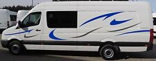 Volkswagen Crafter LWB Vinyl Motorhome Camper Conversion Van Decals Graphic Kit