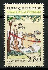 STAMP / TIMBRE FRANCE NEUF N° 2963 ** JEAN DE LA FONTAINE / FABLES