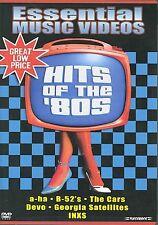 Essential Music Videos - Hits of The 80s (DVD, 2003) RARE A-HA CARS DEVO INXS