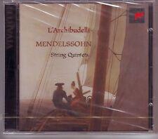 MENDELSSOHN  QUINTETS FOR STRINGS Nos 1 & 2 CD NEW L'ARCHIBUDELLI