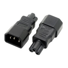 WELLEEN WA-0004 IEC 320 C14 to C5 adapter, C5 to C14 AC adapter