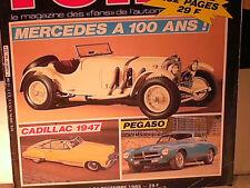 REVUE AUTO RETRO 12/1985 : DOSSIER PEGASO Z 102  /CADILLAC 1947