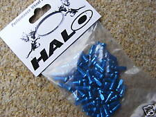 Alloy Spoke Nipples (Bag of 50) Blue (NEW!) Halo