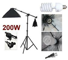 Photography Video Studio Boom Stand Softbox light Kit
