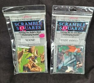 Scramble Squares Puzzle Moose And Wild Animals 9 Square Challenging Brainteasers