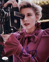 GRETA GERWIG Signed SEXY Director Writer 8x10 Photo IN PERSON Autograph JSA COA