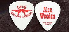MIRANDA LAMBERT 2013 Reloaded Tour Guitar Pick!!! ALEX WEEDEN custom stage #2