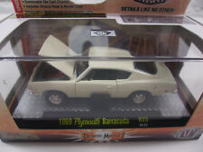 M2 MACHINES 1969 PLYMOUTH BARRACUDA R25 Detroit-Muscle Die-Cast LIMITED 2014