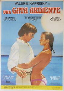 Una gata ardiente -- Cartel de Cine Original --