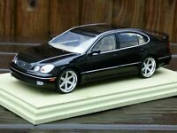 Autoart Lexus GS 400 Black 1:18 V8 S160 Toyota Crown Toy Model Car Modified