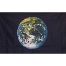 Earth From the Moon Flag Banner Sign 3' x 5' Foot Polyester Grommets
